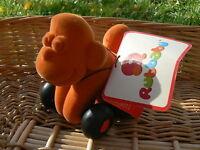 NUOVO Rubbabu Scimmia arancione aniwheelies Monkey