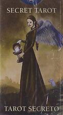 Secret Mini Tarot Deck - Gothic Style Readings - 78 Cards & Instruction Booklet
