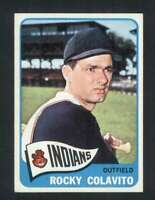 1965 Topps #380 Rocky Colavito NM/NM+ Indians 112172