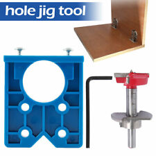 Hinge Jig Hole Saw For Home Furniture Door Cabinet Installation Woodworking Tool