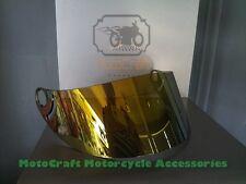 SHARK RS2 RSR RSR2 Carbon RSR 2V RSX VZ32 Golden Helmet Visor Factory Fitment
