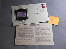 2003 First Day Issue New York NY Joseph Pulitzer 3 Cent USPS -2
