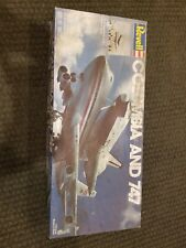 Revell Columbia And 747 model #4715 New Old Stock