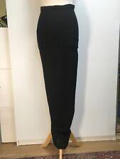 NEW Rick Owens SS17 Walrus collection maxi pencil skirt black textured linen 6