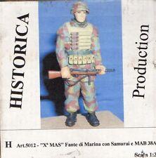 HISTORICA PRODUCTIONS 5012 - X° MAS FANTE DI MARINA CON SAMURAI - 1/35 RESIN KIT