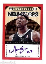 13-14 PANINI HOOPS RED BORDER ANDRAY BLATCHE AUTO AUTOGRAPH #06/25