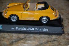 Hongwell Porsche Yellow 356B Cabriolet 1:43