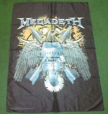 MEGADETH TEXTILE POSTER FLAG  RARE NEW NEVER OPENED EAGLE