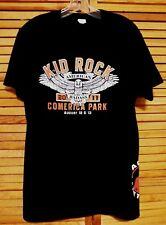 KID ROCK TOUR 2011 T-SHIRT COMERICA PARK DETROIT XL BLACK 2-SIDED GRAPHICS+