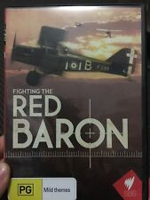 Fighting The Red Baron region 4 DVD (2010 war / aircraft documentary) * rare *