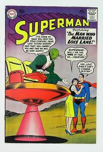 Superman (1939 series) #136 in Fine + condition. DC comics [*8s]