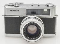 Minolta Hi-Matic 7 Sucherkamera Kamera mit Rokkor PF 1:1.8 45mm Optik