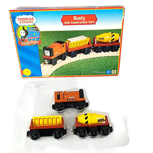 Thomas & Friends Rusty with Construction Cars 99162 2001