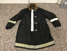 Vintage 1980s Firefighters Bunker Coat