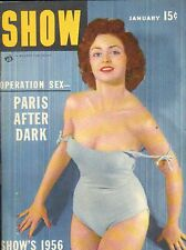 Pocket Magazine--Show Jan. 56 1956 calendar 6 page Martinelli-----203
