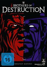 WWE Brothers Of Destruction [DVD] NEU DEUTSCH The Undertaker & Kane Best of