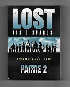 coffret de 4 DVD - LOST les disparus saison 1 partie 2 (épisodes 13 à 25)