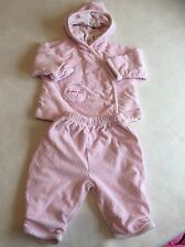 Baby Girls Clothes 0-3 Months - Warm Cord Tracksuit Outfit -