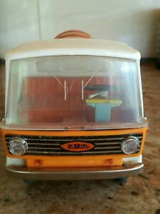VINTAGE TOY TRUCK MPO GARBAGE CLEANER SERVICE ZBIK PUMA FRICTION DRIVE POLAND