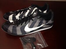 NEW Nike Zoom Rival D Track Men Size 12.5 Distance w/Spikes Tool 616310-010 Fly