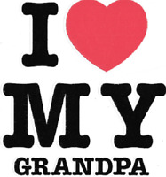 Grandpa i love my kid t-shirt one-piece infant toddler youth US sz >