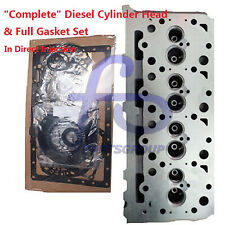 """""""Complete"""" Diesel Cylinder Head & Full Gasket For Kubota V2003 Direct Injection"""