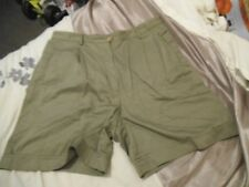 "A1 Mens Vtg TENNIS shorts Fancy dress party stag Retro 80s S 32"" GREEN FILA"