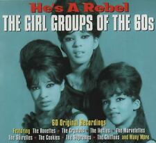 HE'S A REBEL - THE GIRL GROUPS OF THE 60S - RONETTES SHIRELLES - 3 CDS - NEW!!