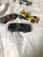 3 Vintage Cars Corgi Matchbox Mattel