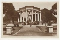 War Memorial Cardiff Vintage RP Postcard Glamorgan South Wales 750b