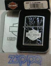 ZIPPO  HARLEY DAVIDSON Lighter  H-D  LIGHTNING BAR & SHIELD  Emblem  SEALED