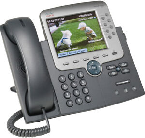 NEW Cisco CP-7975G IP Phone with Color Display & AC Adapter (#8F5P)