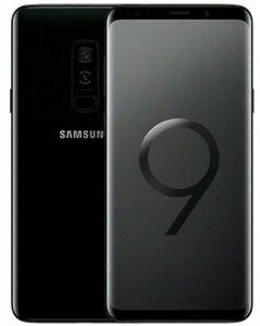 Samsung Galaxy S9 Plus 64GB DS Noir très bon état Reconditionné A.A240
