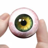 Doll Making Glass Like Eyes 4mm iris 6mm eyeball color-Light Amethyst
