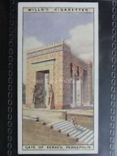No.33 GATES OF XERXES, PERSEPOLIS Wonders of the Past - W.D. & H.O.Wills 1926