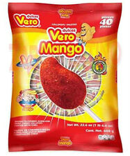 Vero Mango w/chilli lollipop the Original { 1 Bag Total with 40 pieces in bag }
