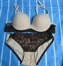 F58:New Victoria's Secret Sexy Push-Up Bra & Panty Terno-32A