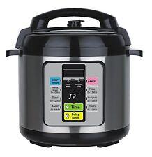 1000 Watt 6.5 Quart Stainless Steel Instant Fast Electric Pot Pressure Cooker