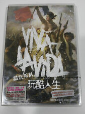 COLDPLAY VIVA LA VIDA CD + POSTER CHINESSE CHINA EDITION NEW SEALED UNIQUE!!! &