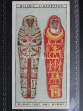 No.5 MUMMY CASE AND MUMMY Wonders of the Past - W.D. & H.O.Wills 1926