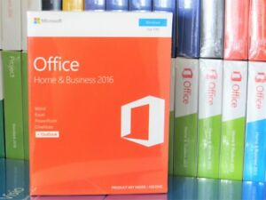Original Microsoft Office 2016 Home Business T5D-02826 365 Word Excel Outlook
