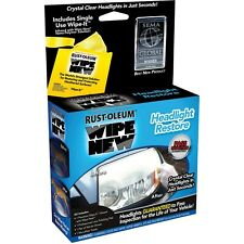 Rust-Oleum Wipe New Headlight Restore Kit Car Detailing July 4 special only $10