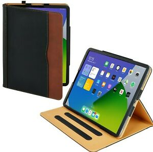 iPad Pro 12.9 4 Gen 2020 Soft Leather iPad Case Magnetic Smart Cover for Apple