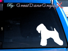 Soft-coated Wheaten Terrier -Vinyl Decal Sticker -Color Choice -High Quality