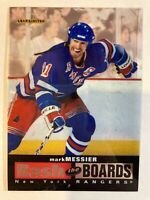 1996-97 Leaf Limited Bash the Boards - MARK MESSIER #2 New York Rangers /3500