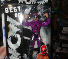 REY MYSTERIO BEST OF WCW FIGURE. NEVER OPENED. FREE U.S. SHIPPING