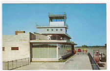 Baer Field Airport Fort Wayne Indiana postcard