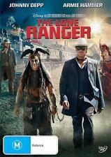 The Lone Ranger (DVD, 2013) Johnny Depp -- Free Postage --