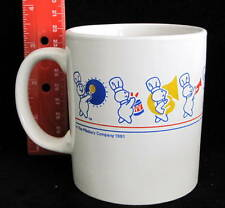 PILLSBURY DOUGHBOY on Parade Marching Band COFFEE MUG 1991