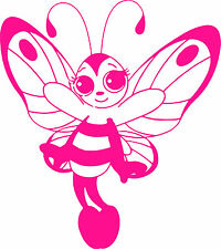 Butterfly Girl Fairy  Vinyl Sticker,Decal,Car Bumper,Window,Laptop,Wall,Mirror
